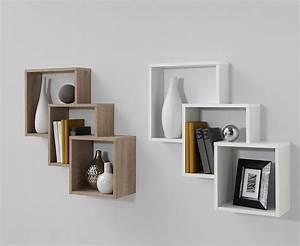 étagère Murale Salon : etagere murale design pour salon id es de d coration int rieure french decor ~ Farleysfitness.com Idées de Décoration