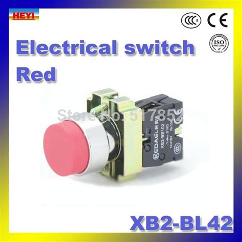 xb2 bl42 electrical switch 22mm no nc 50 60 hz pressure switch colour optional push button