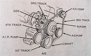 Drive Belt A Diagram 305 5 0