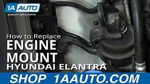 How To Install Replace Upper Engine Mount Hyundai Elantra