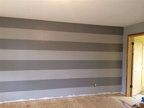 gray stripes wall behr paint colors porpoise anonymous house redo pinterest gray