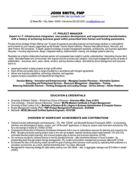 exle program manager resume 33 best images about resume on digital marketing technology and resume tips