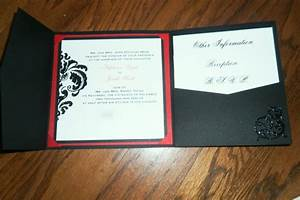 our diy tri fold invitations weddingbee photo gallery With wedding invitation fold out envelope