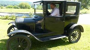 How To Start Up And Drive A 1925 Ford Model T
