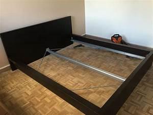 Lit Voiture Ikea : good amazing cadre de lit ikea malm brun x meubles with ~ Teatrodelosmanantiales.com Idées de Décoration