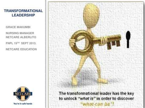 transformational leadership powerpoint