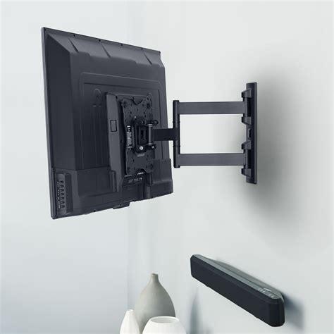 tv on wall mount amazon com amazonbasics heavy duty motion