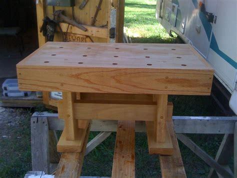 mini bench wiith  moxon vice  dave  lumberjockscom