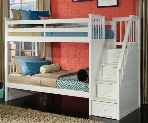 Smart Kids White Bunk Beds New Kids Furniture