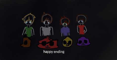 happy ending fnaf 4 by cryingchilddraws11 on deviantart