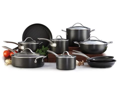 costco kirkland cookware anodized hard signature pan consumer reports nonstick cooking pioneer woman pans non stick induction sets professional frontier