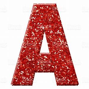 Glitter Letter A Stock Photo & More Pictures of Alphabet ...