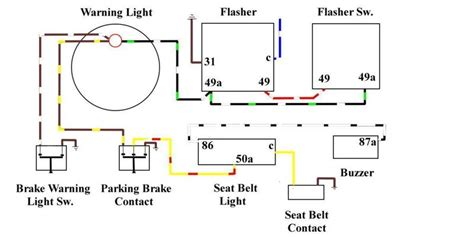 Brake Warning Light Switch Diagram where is the brake switch pelican parts forums