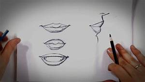 How to Draw Lips | Drawing Tips - YouTube