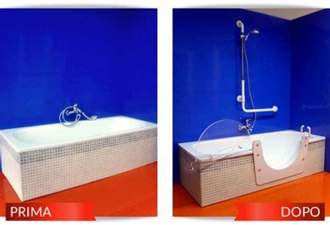 Vasche Da Bagno Per Disabili Costi by Prezzo Installazione Sportellino Per Disabili Su Vasca Da