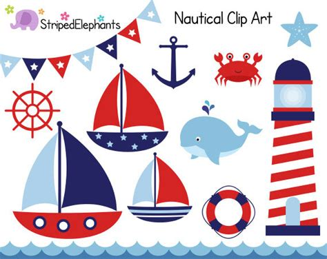 Nautical Boat Pictures by Nautical Theme Clipart Clipart Suggest