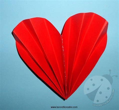 cuore  fisarmonica tutorial lavoretti creativi