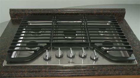 Whirlpool Gas Cooktop Installation (model #wcg97us0ds