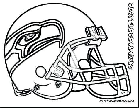 Seattle Seahawks Logo Coloring Pages - Eskayalitim