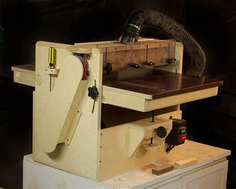 krtwood shop built drum sander mk wood shop ideas