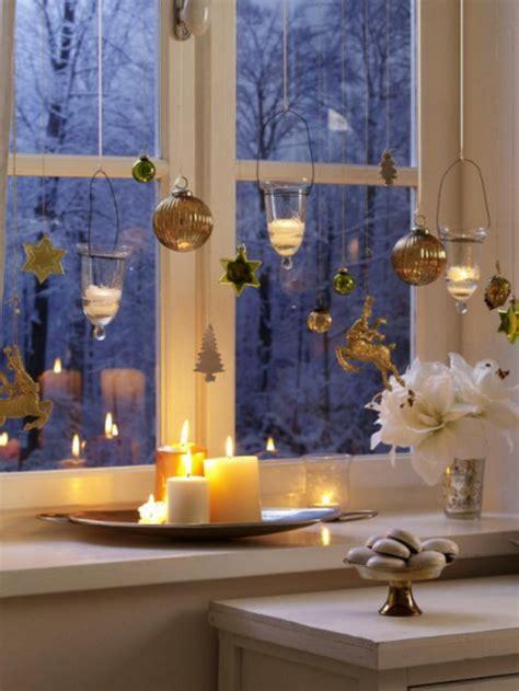 moderne weihnachtsdeko fensterbank teelichter bezaubern auch ihr zuhause archzine net