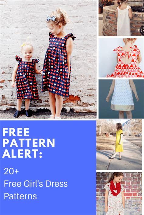 pattern alert   girls dress patterns