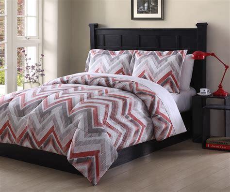 textured chevron comforter set shop your way online