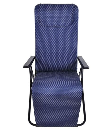 tulip recliner blue portable chair buy at best