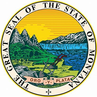 Montana Seal State Svg Flags Vector
