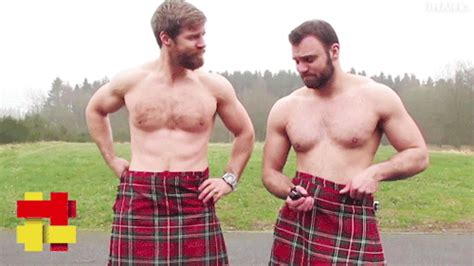 Celebrate Burns Night With These Smoking Hot Scotsmen