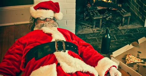 A comprehensive account of exactly how drunk Santa would ...