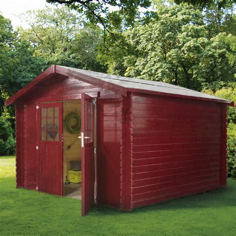 abri en bois abris de jardin de 5 224 7 5 m2 comptoir des bois