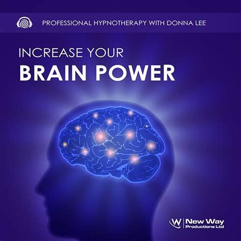 increase  brain power hypnosis cd mp