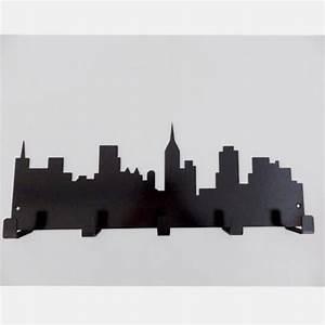 Porte Manteau Metal : porte manteau m tal skyline ~ Teatrodelosmanantiales.com Idées de Décoration