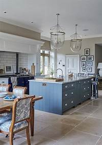 blue and white kitchen New Interior Design Ideas for the New Year - Home Bunch ...