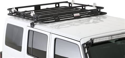 smittybilt roof rack smittybilt 45454 defender roof rack for 07 17 jeep