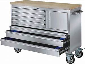 48 INCH STAINLESS STEEL ROLLING WORKBENCH Automotive tools