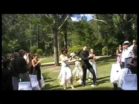 phil elina funniest wedding dance entrance