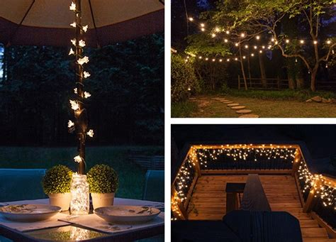 Outdoor Deck String Lighting Ideas