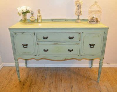 shabby chic buffet table green buffet table shabby chic muebles restaurados pinterest chic shabby chic and