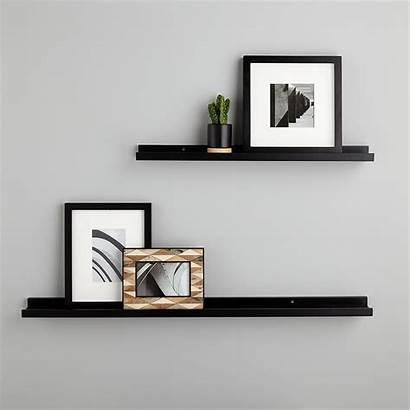 Shelves Ledge Wall Shelf Floating Makeup Shelving