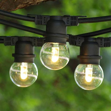 commercial outdoor led string lights why commercial outdoor globe string lights are still great
