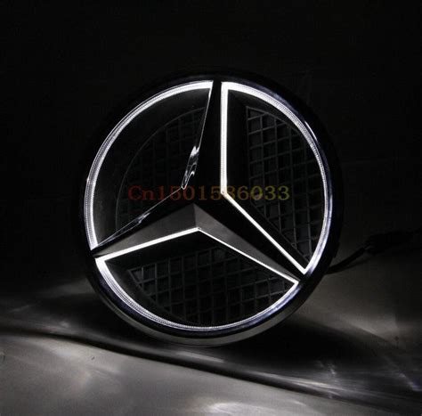 grille center emblem badge led illuminated star kit
