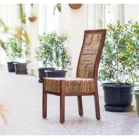 dallas woven abaca dining chair sg 3306 1ch