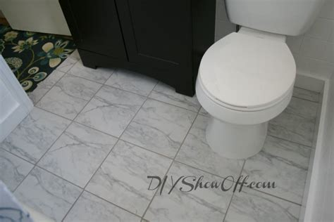 home depot flooring for bathrooms how to tile a bathroom floordiy show off diy decorating and home improvement blog