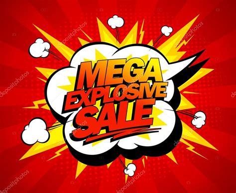 Sale Images Mega Explosive Sale Design Stock Vector 169 Slena 60232729