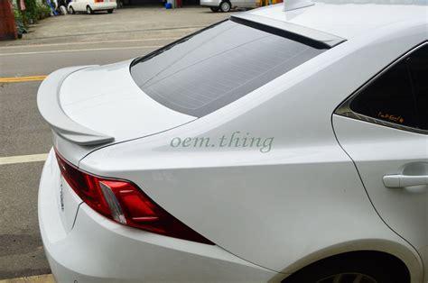Painted Lexus Is250 Is300h Is F Sport D Type Rear Roof
