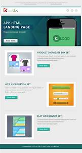 flat email template design psd design3edgecom With designing an email template