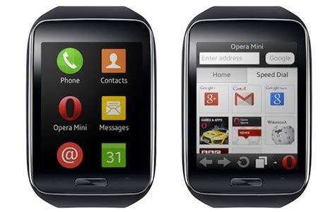 data saving opera mini browser to land on samsung gear s