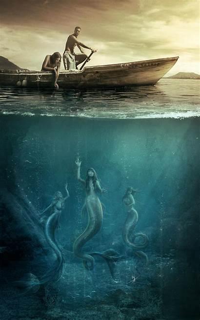 Mermaid Deviantart Vasylina Digital Photomanipulation
